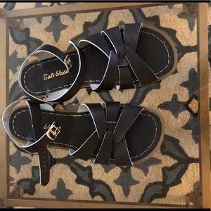 Dark brown Original Saltwater Sandals